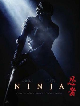 Постер фильма Ниндзя (Ninja) со Скоттом Эдкинсом и Цуеси Ихара