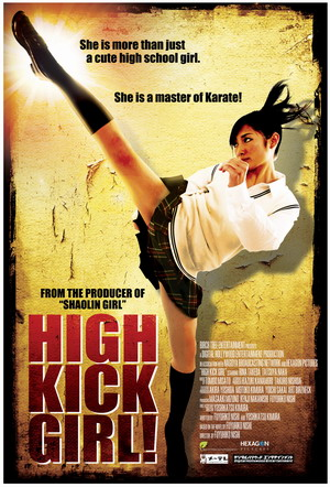 High Kick Girl poster