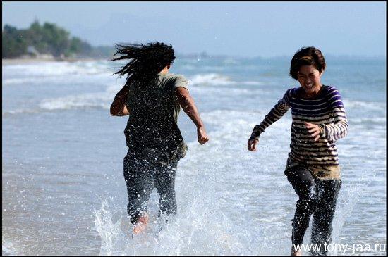 Джиджа Янин - бегущая по воде :)