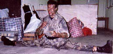 Рон - грязный американский солдат %)