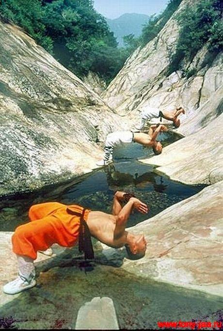 Сила воли монаха