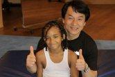 Kung-fu kid stars