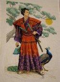Японская картина - Последняя любовь самурая