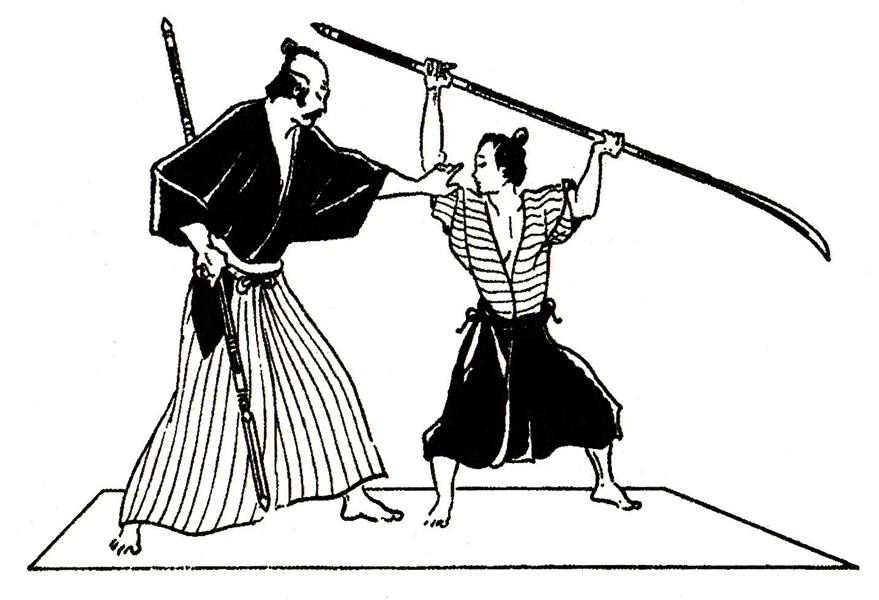 Схватка самураев