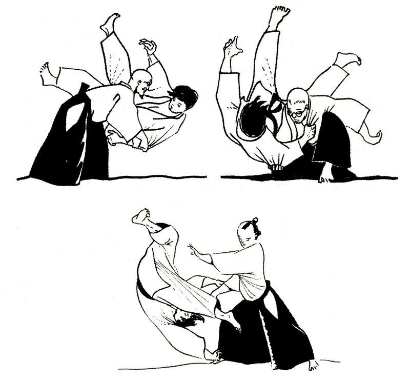Иллюстрация айкидо