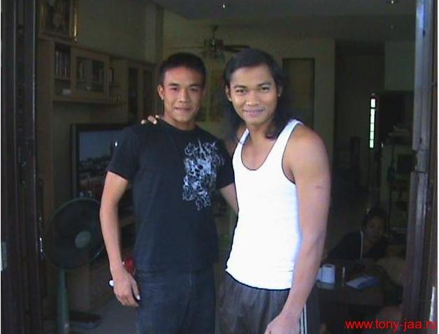 Тони Джаа и Сураван Сатчукорн