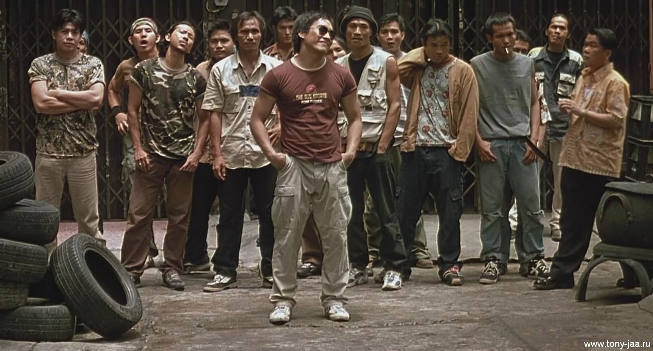 Онг-Бак (Ong-Bak) - Уличные хулиганы