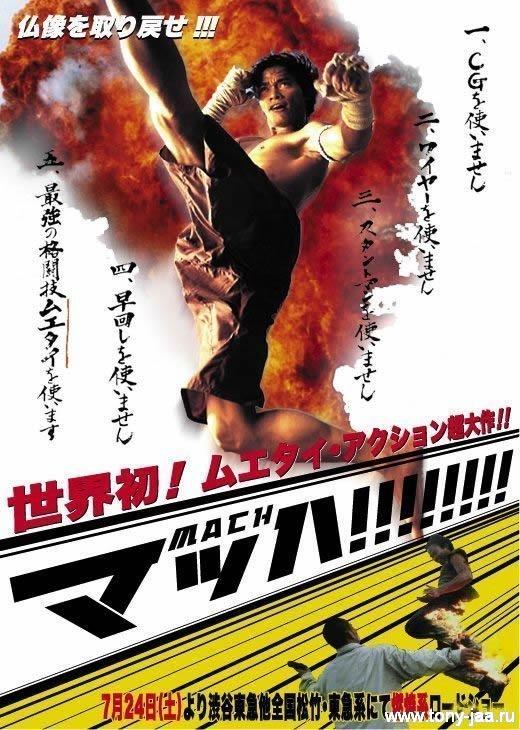 Онг-Бак - пиратский постер