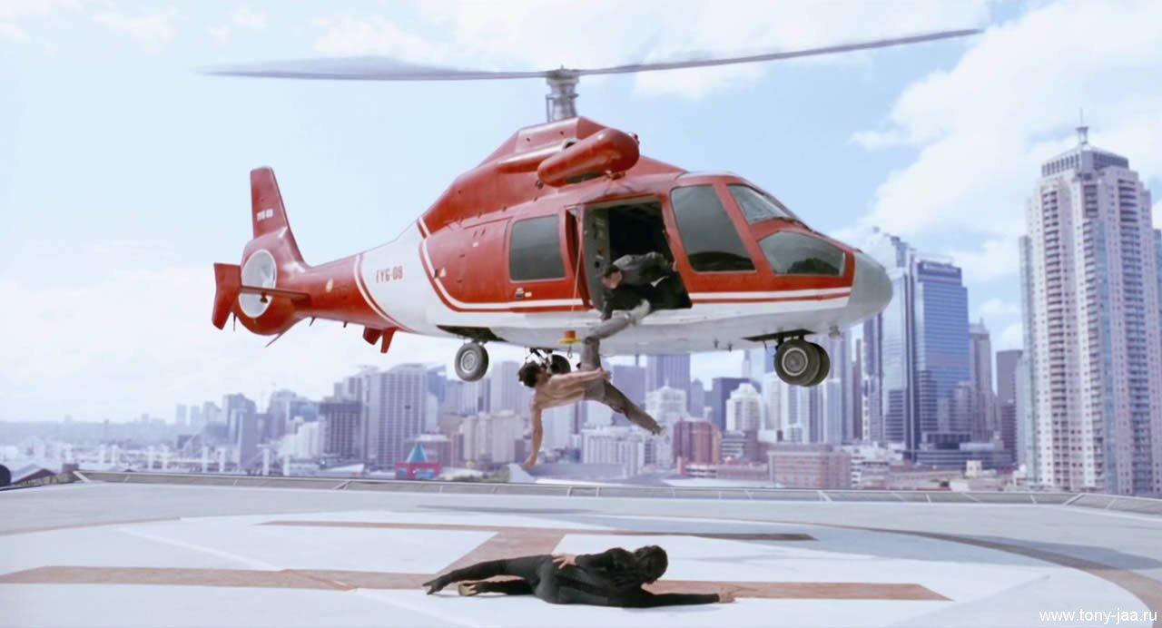 У вертолета