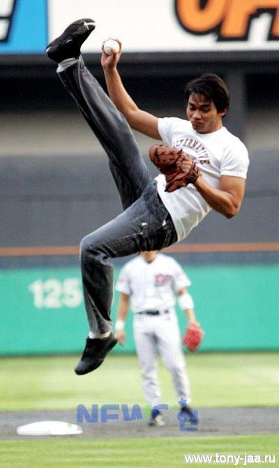 Тони Джаа: Мяч пойман
