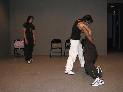 Тони Джаа на представлении