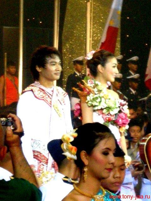 Тони Джаа на церемонии