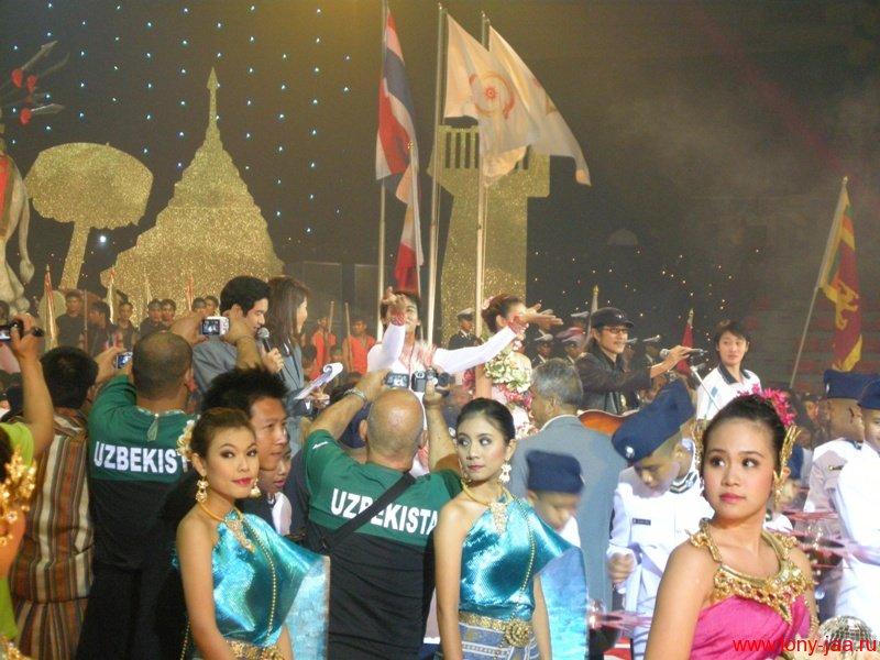 Тони Джаа (Tony Jaa)  - церемония Хануман