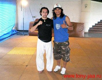 Тони Джаа и Тим Ман