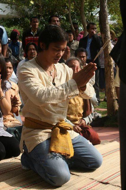 Тони Джаа - церемония