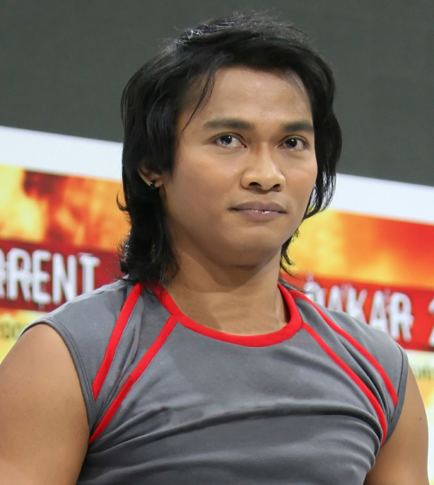 Tony Jaa at Motor Show