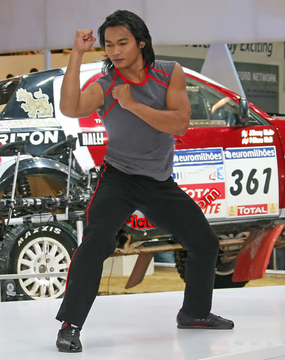 Legend Tony Jaa at Motor Show